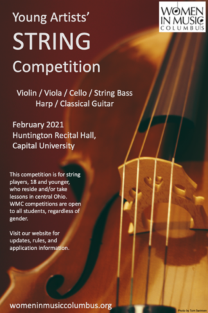 Young Artists String Competition Feb. 2021